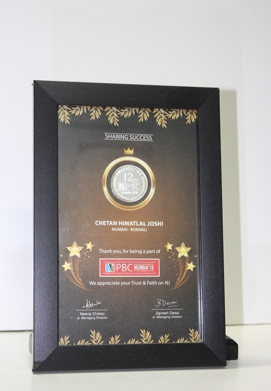 Achieved 12Years of Mutual Fund distribution award